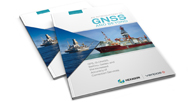 Cover image of the Veripos Introduction to GNSS Book on a white background.